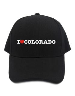 I Love Colorado Baseball Cap