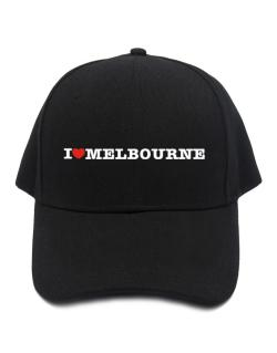I Love Melbourne Baseball Cap