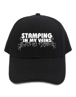 Stamping In My Veins Baseball Cap