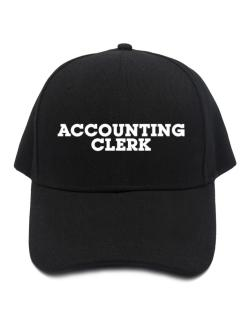 Accounting Clerk Baseball Cap