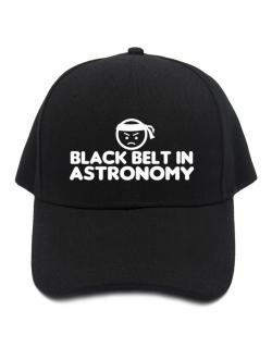 Black Belt In Astronomy Baseball Cap