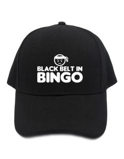 Black Belt In Bingo Baseball Cap