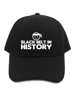 Black Belt In History Baseball Cap