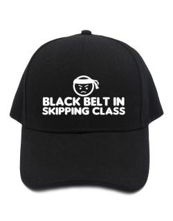 Black Belt In Skipping Class Baseball Cap