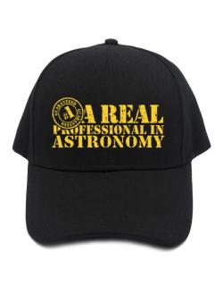 A Real Professional In Astronomy Baseball Cap