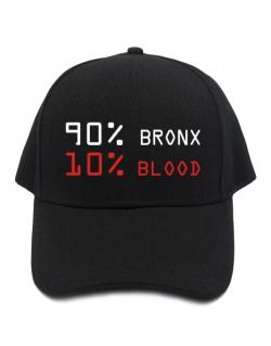 90% Bronx 10% Blood Baseball Cap