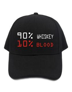 90% Whiskey 10% Blood Baseball Cap