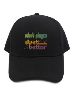 Rebab Players Duet Better Baseball Cap