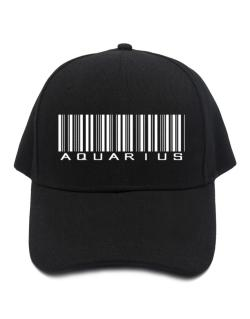 Aquarius Barcode / Bar Code Baseball Cap