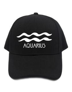 Aquarius - Symbol Baseball Cap