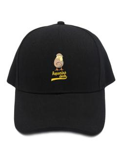 Aquarius Chick Baseball Cap