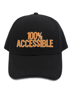 100% Accessible Baseball Cap