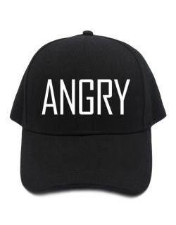 Angry - Simple Baseball Cap