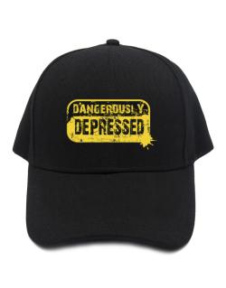Dangerously Depressed Baseball Cap