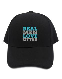 Gorra de Real Men Love Otter