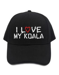 I Love My Koala Baseball Cap