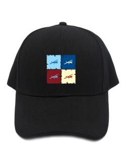 """ Aerobatics - Pop art "" Baseball Cap"