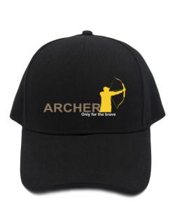 Archery - Only For The Brave Baseball Cap