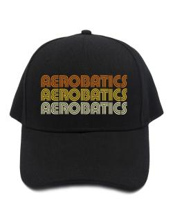 Aerobatics Retro Color Baseball Cap