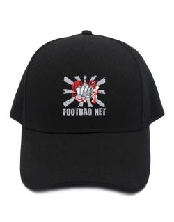 Footbag Net Fist Baseball Cap