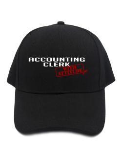 Accounting Clerk With Attitude Baseball Cap