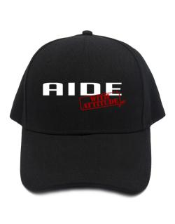 Aide With Attitude Baseball Cap
