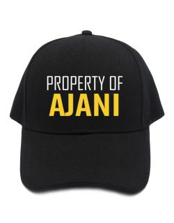 Property Of Ajani Baseball Cap
