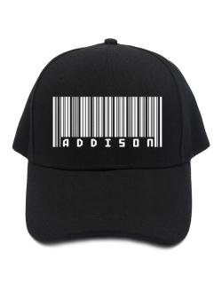 Bar Code Addison Baseball Cap