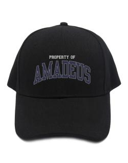 Property Of Amadeus Baseball Cap