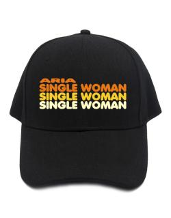 Aria Single Woman Baseball Cap