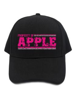 Property Of Apple - Vintage Baseball Cap
