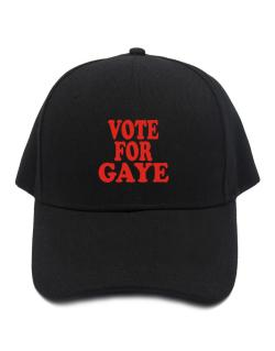 Vote For Gaye Baseball Cap