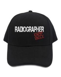 Radiographer - Off Duty Baseball Cap