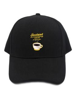 Instant Accounting Clerk, just add coffee Baseball Cap