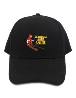Oenologist Ninja League Baseball Cap