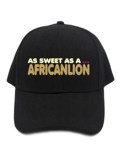 As Sweet As An African Lion Baseball Cap