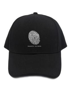 Ammonite Is My Identity Baseball Cap
