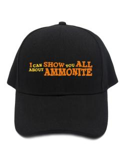 I Can Show You All About Ammonite Baseball Cap