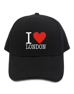 I Love London Classic Baseball Cap