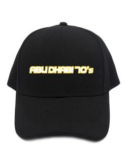 Capital 70 Retro Abu Dhabi Baseball Cap