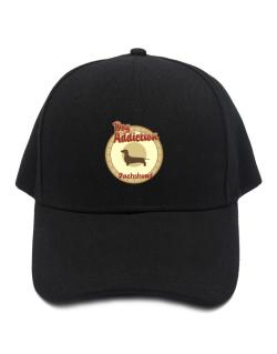 Dog Addiction : Dachshund Baseball Cap