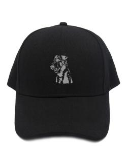 Airedale Terrier Face Special Graphic Baseball Cap