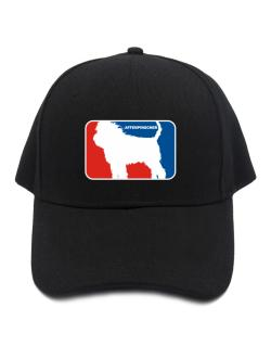 Affenpinscher Sports Logo  Baseball Cap