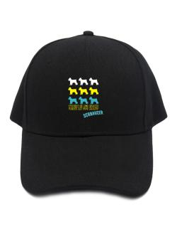 """ THERE IS NO SUCH THING AS TOO MANY Schnauzer "" Baseball Cap"