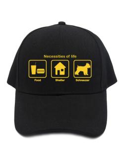Necessities of life - Schnauzer Baseball Cap