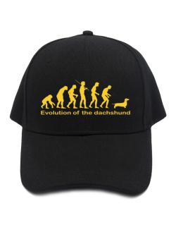 Evolution Of The Dachshund Baseball Cap