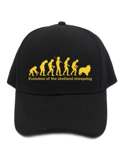 Evolution Of The Shetland Sheepdog Baseball Cap