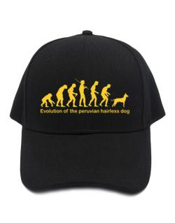 Evolution Of The Peruvian Hairless Dog Baseball Cap