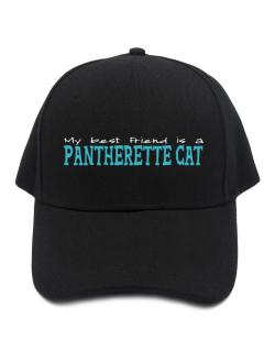 My Best Friend Is A Pantherette Baseball Cap