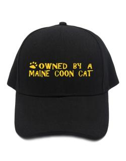 Owned By A Maine Coon Baseball Cap